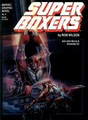 Marvel Graphic Novel Vol 1 8