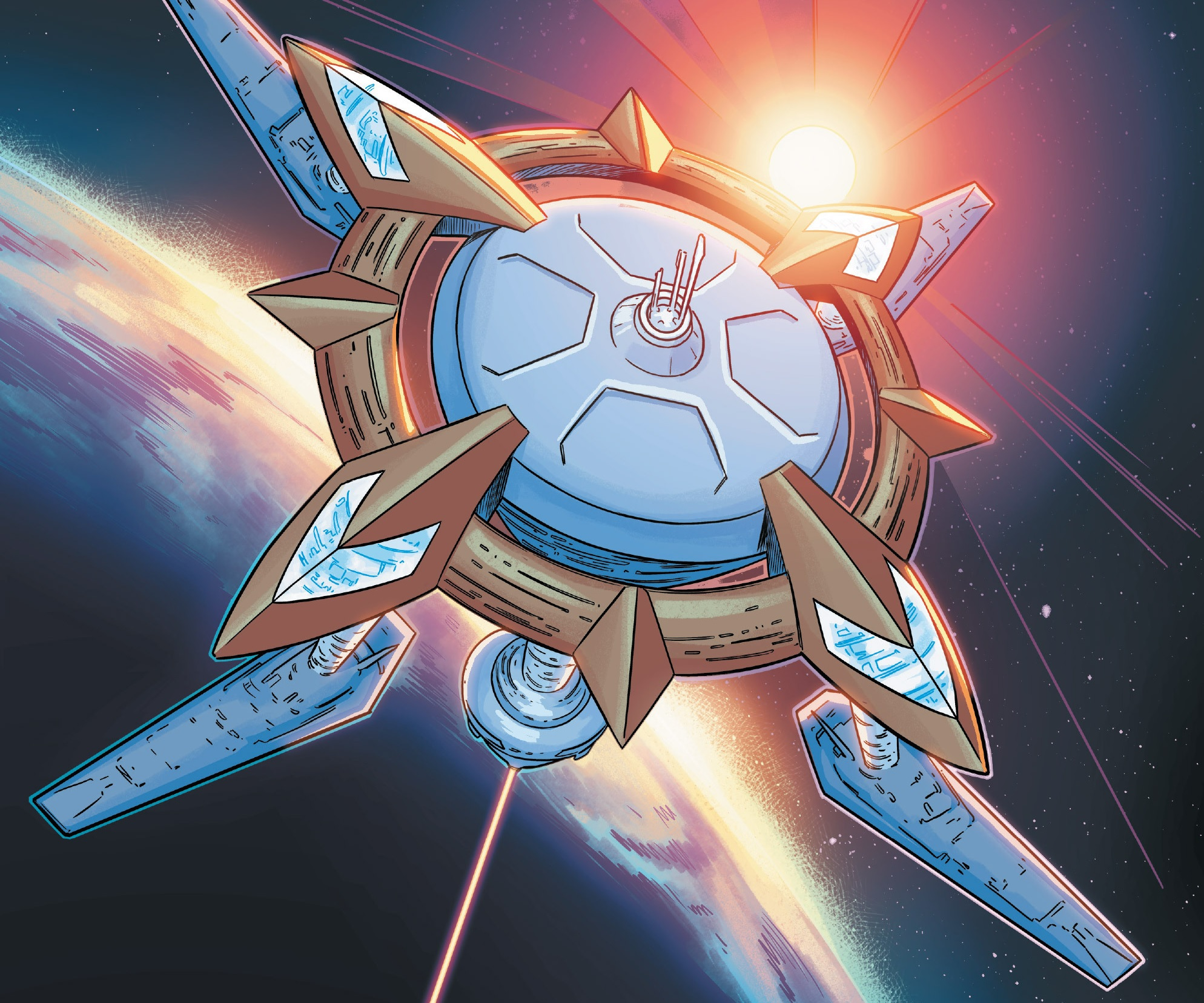 Alpha Flight Low-Orbit Space Station | Marvel Database ...