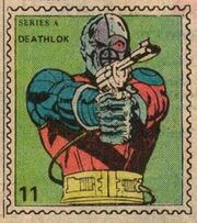 Deathlok Marvel Value Stamp