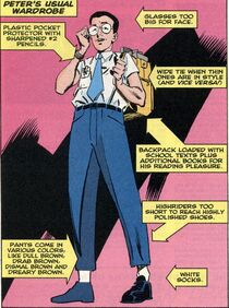 Peter Parker (Earth-616) in high school from Amazing Spider-Man Vol 1 -1