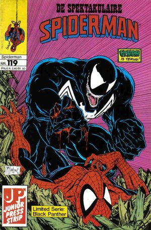 Spectaculaire Spiderman 119
