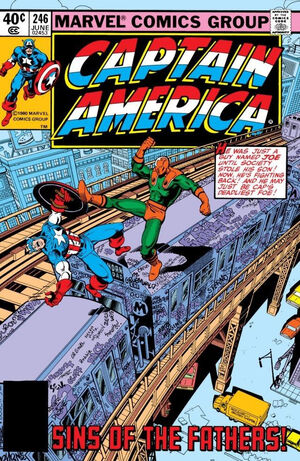 Captain America Vol 1 246