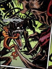 Venom (Klytnar) and Samson (Dog) (Earth-616) from Venom Vol 2 6 0001