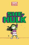 She-Hulk Vol 3 1 Baby Variant Textless
