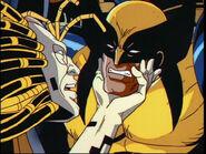 Cameron Hodge (Earth-92131) & Wolverine 002
