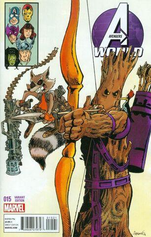 File:Avengers World Vol 1 15 Rocket Racoon and Groot Variant.jpg
