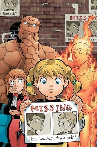 File:Fantastic Four and Power Pack Vol 1 2 Textless.jpg