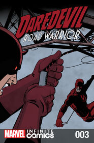 Daredevil Road Warrior Infinite Comic Vol 1 3
