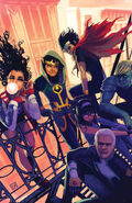 Young Avengers Vol 2 2 Hans Variant Textless