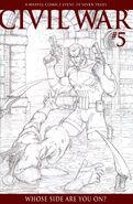 Civil War Vol 1 5 Sketch Variant