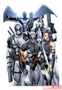 Uncanny X-Force Vol 1 1 Textless Liefeld Variant