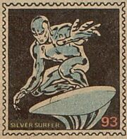Silver Surfer Marvel Value Stamp
