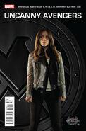 Uncanny Avengers Vol 1 14 Marvel's Agents of S.H.I.E.L.D. Variant