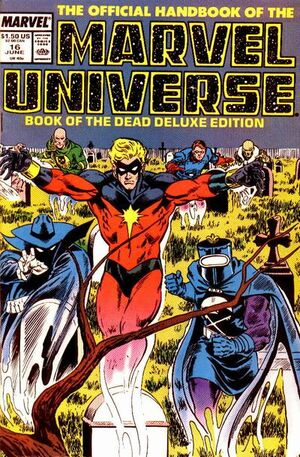 Official Handbook of the Marvel Universe Vol 2 16