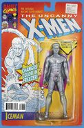Uncanny X-Men Vol 1 600 Action Figure Variant B