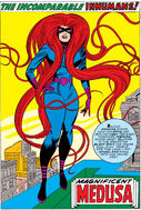 Medusalith Amaquelin (Earth-616) Pin-Up from Fantastic Four Annual Vol 1 5