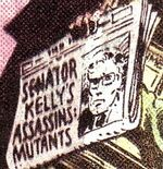 Robert Kelly (Earth-811) from X-Men Vol 1 141 0001