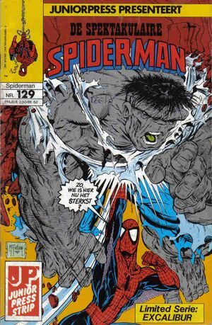 Spectaculaire Spiderman 129
