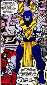 Attuma (Earth-616) fourth armor from Alpha Flight Vol 1 33
