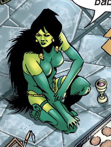 Gamora (Earth-4321) from Marvel Universe The End Vol 1 1 001