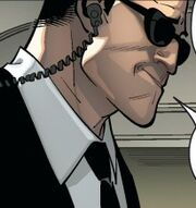 Dan (Presidential security) Ultimate X-Men Vol 1 3