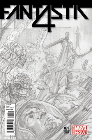 File:Fantastic Four Vol 5 1 Marvel Comics 75th Anniversary Sketch Variant.jpg
