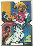 Brian Braddock and Kurt Wagner (Earth-616) from Excalibur Trading Cards 0001