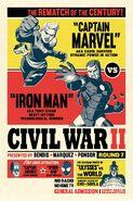 Civil War II Vol 1 8 Cho Variant Textless