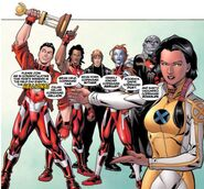 Hellions Squad (Earth-616) from New X-Men Hellions Vol 1 1 0004