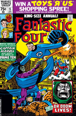 Fantastic Four Annual Vol 1 15