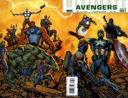 Ultimate Comics Avengers Vol 1 1 Wraparound