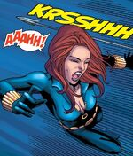Natalia Romanova (Earth-11131) from M.O.D.O.K. Assassin Vol 1 3 0001