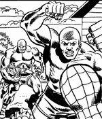 Astro (Earth-616) Spider-Man Zaps Mr. Zodiak 005