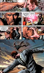 Norman Osborn (Earth-616) Luke Cage (Earth-616) New Avengers Vol 2 20