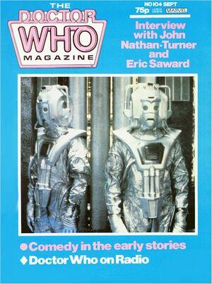 Doctor Who Magazine Vol 1 104