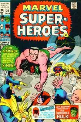 Marvel Super-Heroes Vol 1 25