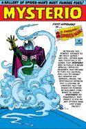 Mysterio Pin-Up from Amazing Spider-Man Annual Vol 1 1