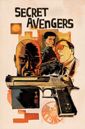 Secret Avengers Vol 2 5 Francavilla Variant Textless