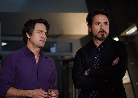 File:Anthony Stark and Bruce Banner (Earth-199999) from Marvel's The Avengers 0001.png