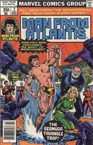 Man From Atlantis Vol 1 2