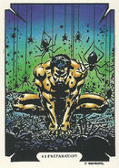 Sergei Kravinoff (Earth-616) from Mike Zeck (Trading Cards) 0005