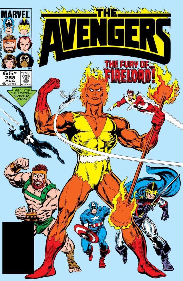 Avengers #258