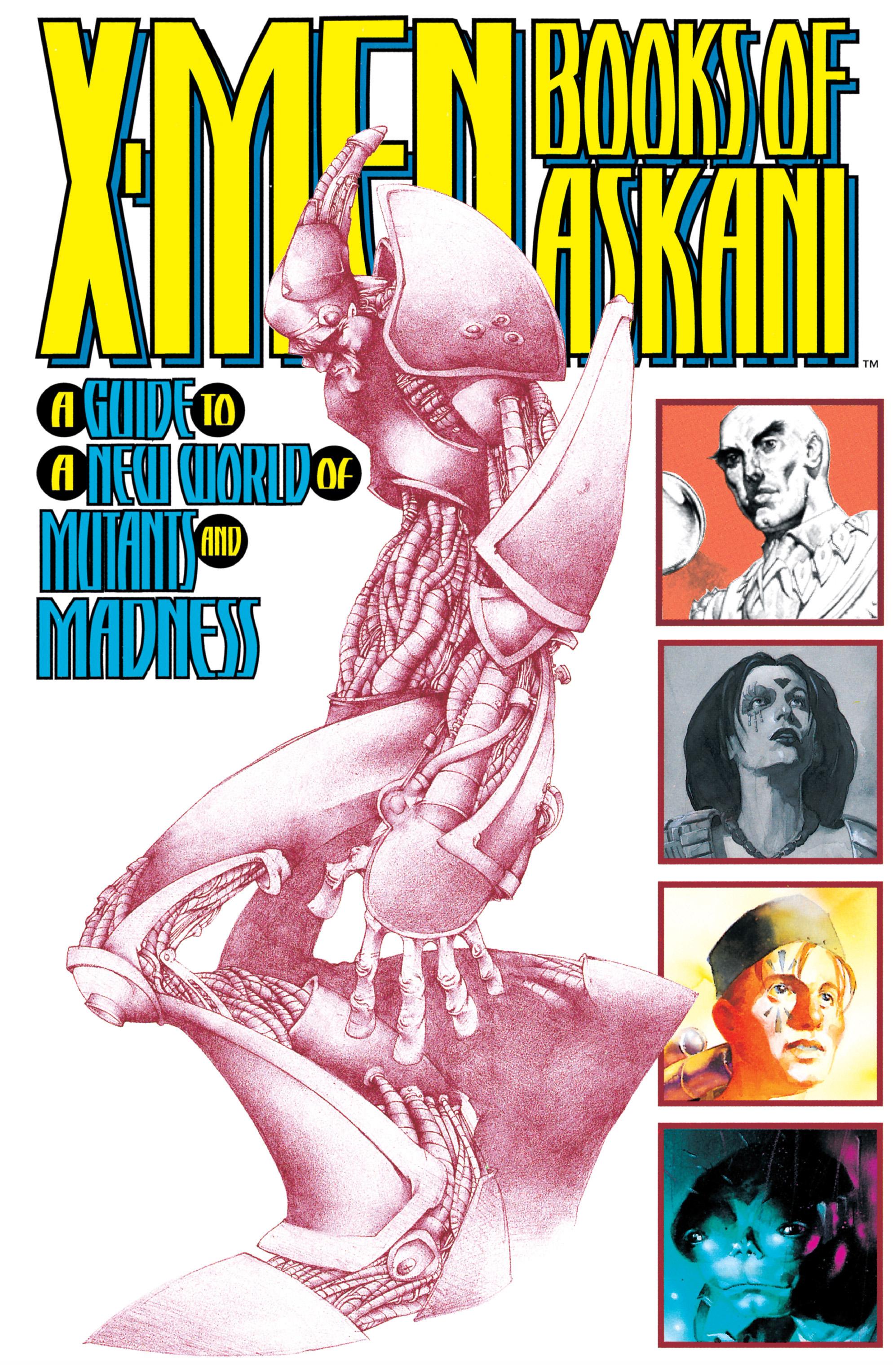 X-Men Books of Askani Vol 1 1