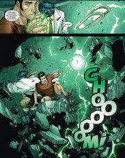 Julian Keller and Henry McCoy (Earth-616) from New X-Men Vol 2 33 0001
