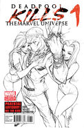 Deadpool Kills the Marvel Universe Vol 1 1 2nd Printing Variant