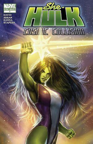 She-Hulk Cosmic Collision Vol 1 1