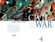 Civil War Vol 1 4 Wraparound