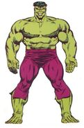 Bruce Banner (Earth-616) from Official Handbook of the Marvel Universe Master Edition Vol 1 8 0001