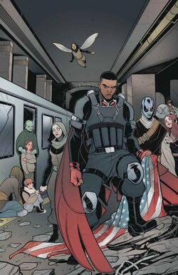 Captain America Sam Wilson Vol 1 22 Textless