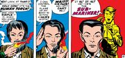 Namor McKenzie (Earth-616) and Jonathan Storm (Earth-616) from Fantastic Four Vol 1 4 0001